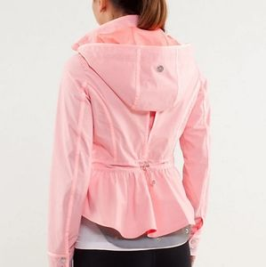 Lululemon Jacket Out and About Pink
